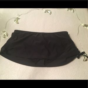 👙Black Bathing Suit Bottom Skirt👙